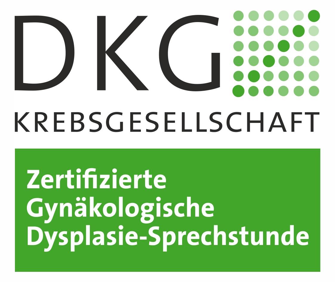 DKG Krebsgesellschaft - Zertifizierte Gynäkologische Dysplasie-Sprechstunde